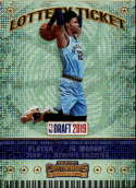 2019-20 NBA Contenders Lottery Ticket #2 Ja Morant Memphis Grizzlies  Official Panini Basketball Trading Card from Hobby (Scan streaks are Not on the