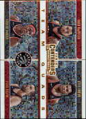 2019-20 NBA Contenders Team Quads #28 Kyle Lowry/Marc Gasol/Fred VanVleet/Pascal Siakam Toronto Raptors  Official Panini Basketball Trading Card from