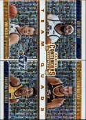 2019-20 NBA Contenders Team Quads #29 Joe Ingles/Donovan Mitchell/Rudy Gobert/Mike Conley Utah Jazz  Official Panini Basketball Trading Card from Hobb