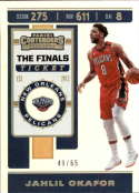 2019-20 NBA Contenders The Finals Ticket #38 Jahlil Okafor SERS65 New Orleans Pelicans  Official Panini Basketball Trading Card from Hobby (Scan strea