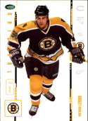 2003-04 2004 Parkhurst Original Six #6 Patrick Leahy RC Rookie Card Boston Bruins Official NHL Hockey Trading Card by IT
