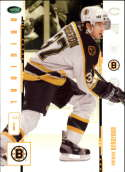 2003-04 2004 Parkhurst Original Six #18 Patrice Bergeron RC Rookie Card Boston Bruins Official NHL Hockey Trading Card b