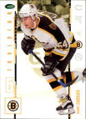 2003-04 2004 Parkhurst Original Six #19 Sergei Zinovjev RC Rookie Card Boston Bruins Official NHL Hockey Trading Card by