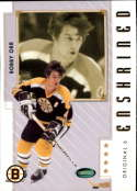 2003-04 2004 Parkhurst Original Six #81 Bobby Orr Boston Bruins Official NHL Hockey Trading Card by ITG In the Game