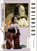 2003-04 2004 Parkhurst Original Six #86 Gerry Cheevers Boston Bruins Official NHL Hockey Trading Card by ITG In the Game