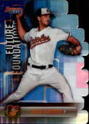 2019 Bowman's Best Future Foundations Die-Cuts Refractor #FF-DK Dean Kremer Baltimore Orioles  Official MLB Baseball Trading Card produced by Topps