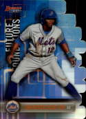 2019 Bowman's Best Future Foundations Die-Cuts Refractor #FF-SN Shervyen Newton New York Mets  Official MLB Baseball Trading Card produced by Topps