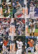 2020 Topps Series 1 Houston Astros Team Set of 17 Cards: Gerrit Cole(#2), Houston Astros(#33), Alex Bregman(#100), Rogel Hand Collated in Near Mint to