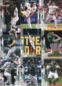 2020 Topps Series 1 Oakland Athletics Team Set of 14 Cards: Oakland Athletics(#73), Blake Treinen(#92), Josh Phegley(#10 Hand Collated in Near Mint to