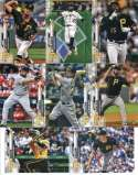 2020 Topps Series 1 Pittsburgh Pirates Team Set of 8 Cards: Chris Archer(#59), Gregory Polanco(#170), Starling Marte(#18 Hand Collated in Near Mint to