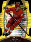 2019-20 Upper Deck Allure Yellow Taxi Hockey #81 Filip Zadina Detroit Red Wings  RC Rookie Official NHL Trading Card (Blaster Exclusive Parallel)