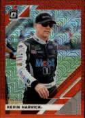 2020 Donruss Racing Optic Red Mojo Prizm #20 Kevin Harvick Mobil 1/Stewart-Haas Racing/Ford  Official Panini America NASCAR Trading Card (Wrapper Rede