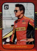 2020 Donruss Racing Optic Red Mojo Prizm #85 Gray Gaulding Panini/SS Green Light Racing/Chevrolet  Official Panini America NASCAR Trading Card (Wrappe