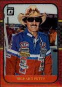 2020 Donruss Racing Optic Red Mojo Prizm #90 Richard Petty STP/Petty Enterprises/Plymouth  Official Panini America NASCAR Trading Card (Wrapper Redemp