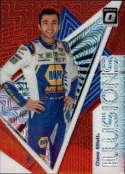 2020 Donruss Racing Optic Illusion Red Mojo Prizm #6 Chase Elliott NAPA Auto Parts/Hendrick Motorsports/Chevrolet  Official Panini America NASCAR Trad