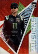 2020 Donruss Racing Optic Illusion Red Mojo Prizm #10 Kurt Busch Monster Energy/Chip Ganassi Racing/Chevrolet  Official Panini America NASCAR Trading