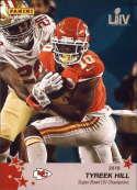 2019 Panini Instant NFL Super Bowl LIV Champions Set # 29 Tyreek Hill Kansas City Chiefs  Official Football Champion Trading Card