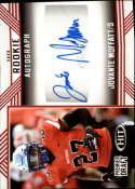 2020 SAGE HIT Premier Draft (NFL) Autograph Red #A27 Jovante Moffatt Auto Middle Tennessee Blue Raiders  Pre-Rookie RC Official Player Licensed Footba