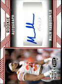 2020 SAGE HIT Premier Draft (NFL) Autograph Red #A30 Malik Harrison Auto Ohio State Buckeyes  Pre-Rookie RC Official Player Licensed Football Trading