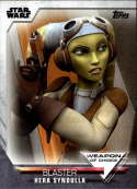 2020 Topps Women of Star Wars Weapon of Choice #WC-19 Hera Syndulla