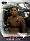 2020 Topps Women of Star Wars Weapon of Choice #WC-23 Kaydel Ko Connix