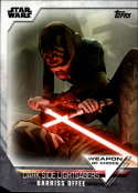2020 Topps Women of Star Wars Weapon of Choice #WC-24 Barriss Offee