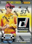 2019 Donruss Racing NASCAR Blaster Box 6 packs per box. 8 cards per pack.