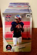 2020 Topps XFL  Complete Football Set of 175 Cards P.J. Walker and Many More Rookies!