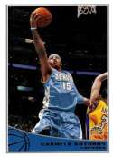 2009-10 Topps Basketball #62 Carmelo Anthony Denver Nuggets  Official NBA Trading Card