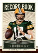 2020 Legacy Football Record Book #15 Aaron Rodgers Green Bay Packers  Official NFL Trading Card by Panini America