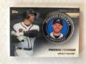 2020 Topps Series 2 Baseball Player Medallion Coin #TPM-FF Freddie Freeman Atlanta Braves  Official Blaster Exclusive Trading Card